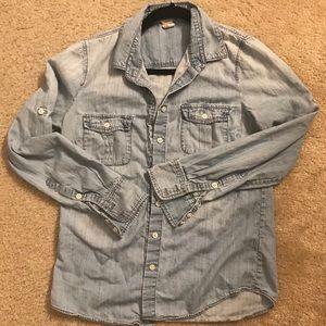 J.Crew jean shirt